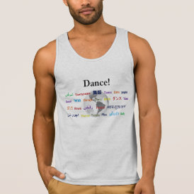 Global Dance - The Global Language (Customizable) Tank Top