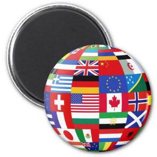 Sphere Refrigerator Magnets | Zazzle