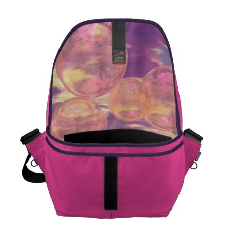 Glorious Skies – Pink and Yellow Dream Courier Bag