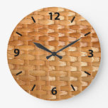 Glossy Wicker Basketweave Texture Look