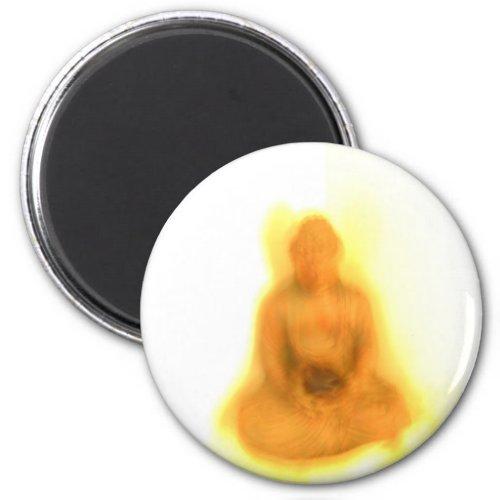 Glowing Buddha magnet