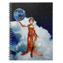 Goddes of Universe Notebook notebook