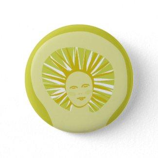 Goddess of the Sun button