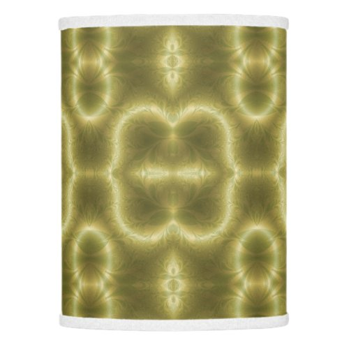 Gold and Green Retro Lamp Shade