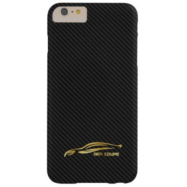 Gold Hyundai Genesis COUPE Logo Barely There iPhone 6 Plus Case