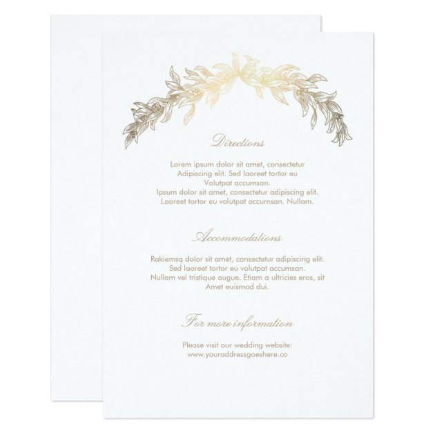 What Inserts Do You Put In Wedding Invitations Wedding Invitation