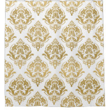 Damask Shower Curtains Zazzle
