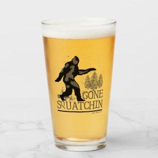 Gone Squatchin Glass