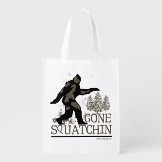 Gone Squatchin Grocery Bag