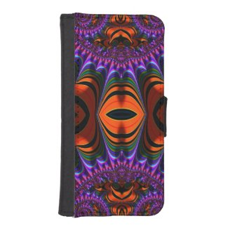 Gorgeous Fractal Art iPhone 5 Wallet