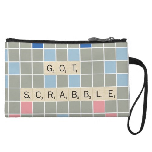 Got Scrabble Wristlet