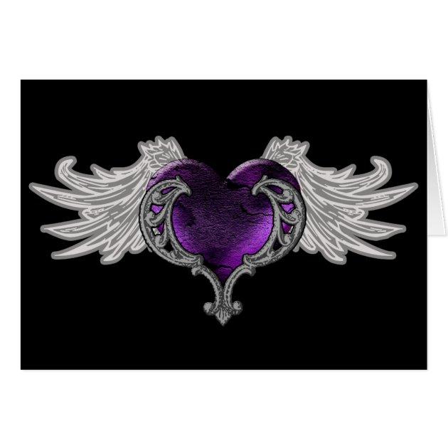 Purple Wedding Shower Invitations