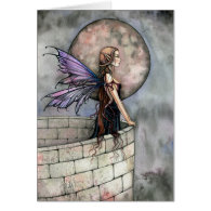 Gothic Fairy Greeting Card ~ Blank