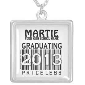 Graduating 2013: Priceless (Personalize) Necklace