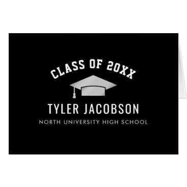 Graduation Class of 2018 | Black and Silver