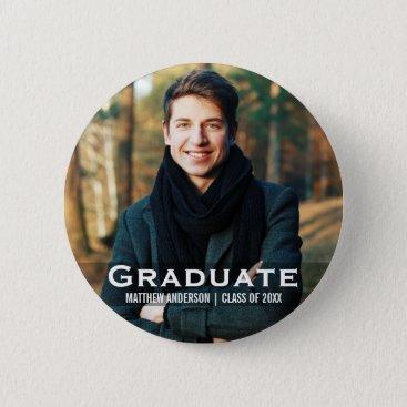 Graduation Modern Photo Button