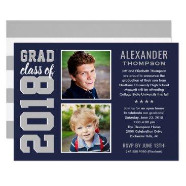 Graduation Party Invitation | Grad Class of 2018