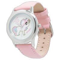 Granddaughter Bezel Stainless Steel Watch/Unicorn Watch