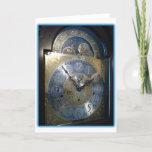 Grandfather Clock Face cards