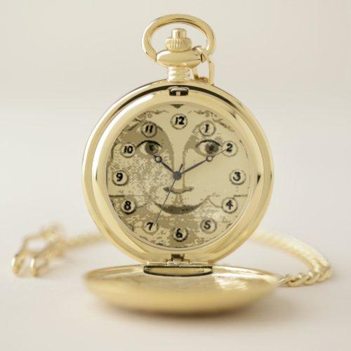 Grandfather Clock Pocket Watch