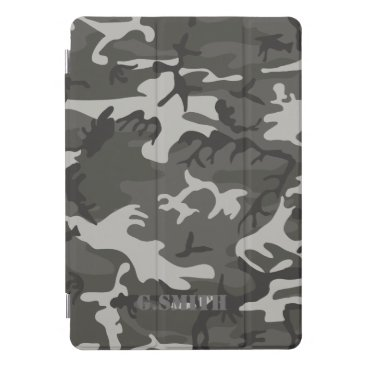 Gray Camouflage. Camo your iPad Pro Cover