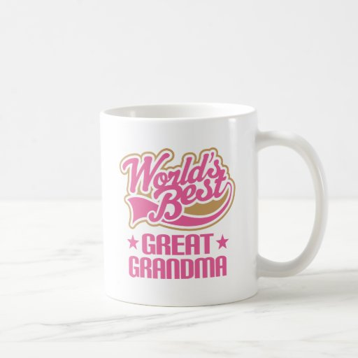 Great Grandma Worlds Best Pink Coffee Mug | Zazzle