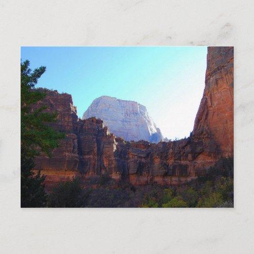 Great White Throne, Zion, Postcard postcard