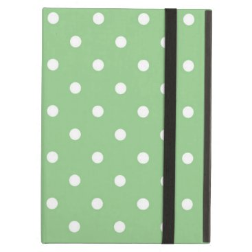 Green Apple Polka Dot iPad Case