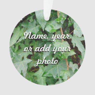 Green Climbing Ivy 0237 Ornament