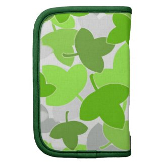 Green leaves pattern planners