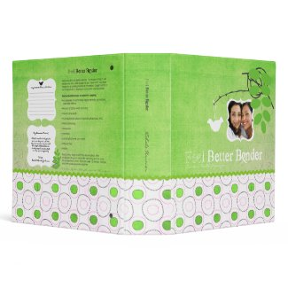Green Photo Feel Better Binder