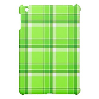 Green plaid - iPad case