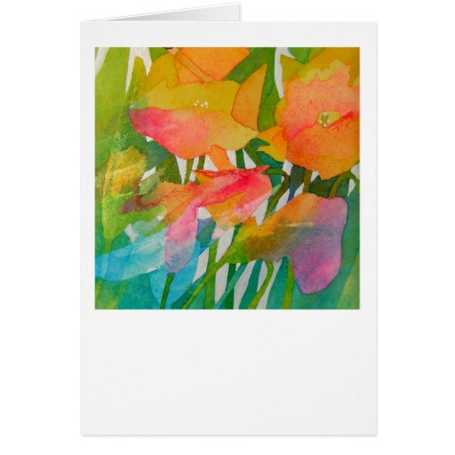 Greeting card featuring the art of Amanda Spencer | Zazzle
