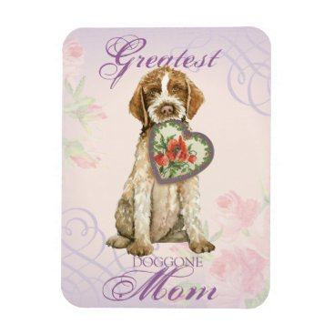Griffon Heart Mom Magnet