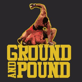 Ground and pound t-shirt shirt