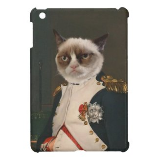 Grumpy Cat Classic Painting iPad Mini Cover