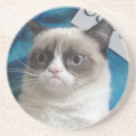 Grumpy Cat Coasters
