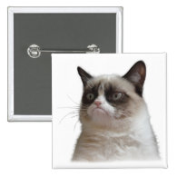 Grumpy Cat Glare Button