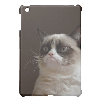 Grumpy Cat Glare iPad Mini Cases
