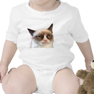 Grumpy Cat Infant Creeper