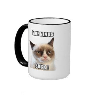 Grumpy Cat™ Mornings Suck Mug