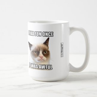 "Grumpy Cat™ Mug - ""I had fun once. It was awful."""