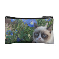 Grumpy Cat Purse (Baguette Bag) Makeup Bag