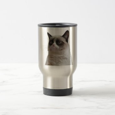 Grumpy Cat Travel Mug
