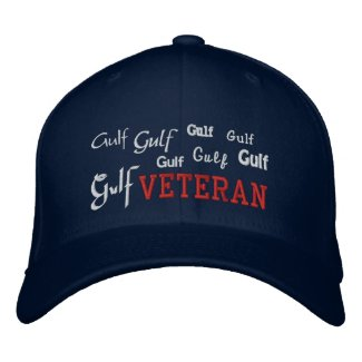 Gulf Veteran - Embroidered Hat