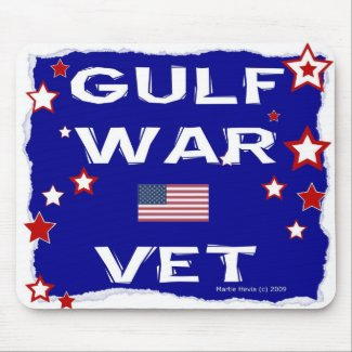 Gulf War Vet - In Honor - Mousepad