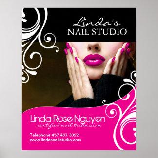 Nail Salon Posters Zazzle