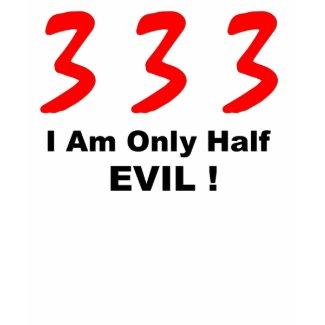 half evil woman