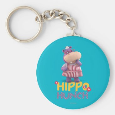 Hallie - Hippo Hunch Keychain