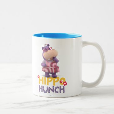 Hallie - Hippo Hunch Two-Tone Coffee Mug